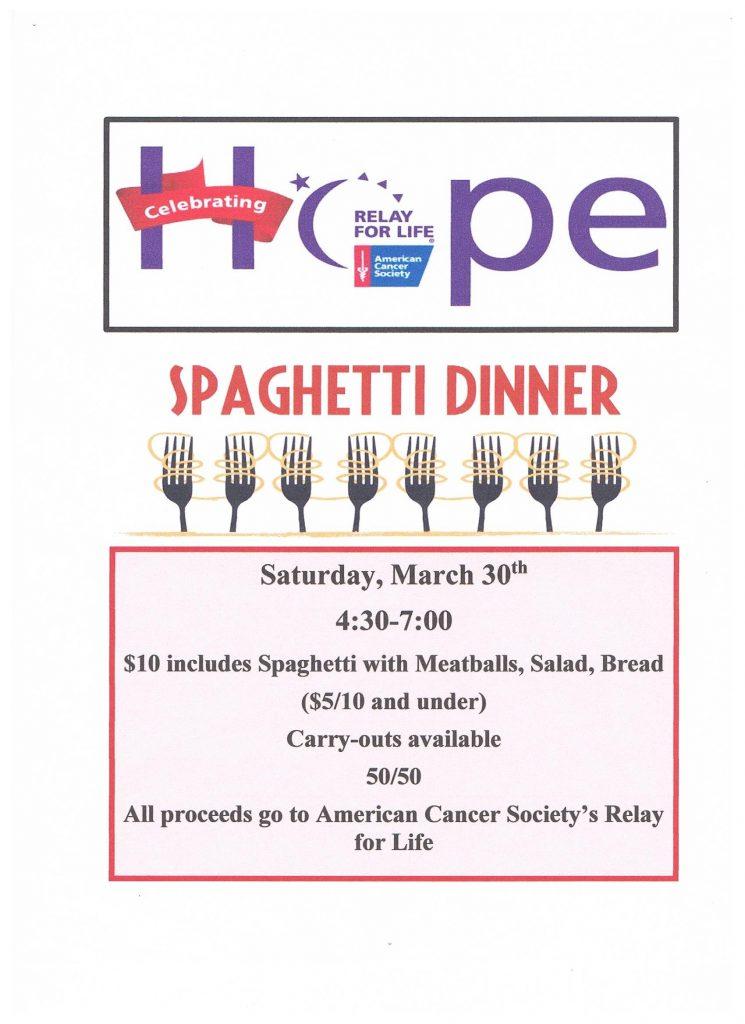 Cancer Benefit Dinner